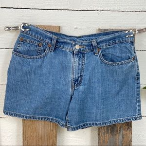 Polo Jeans Co Pre Loved Jean Shorts Size 8